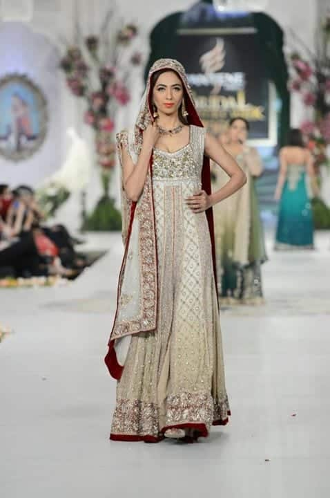 3-Pakistani-Alluring-Bridal-Dresses-Collection-for-Feminine-10 Indian Bridesmaid Dresses-24 Latest Dresses Designs for Bridesmaids
