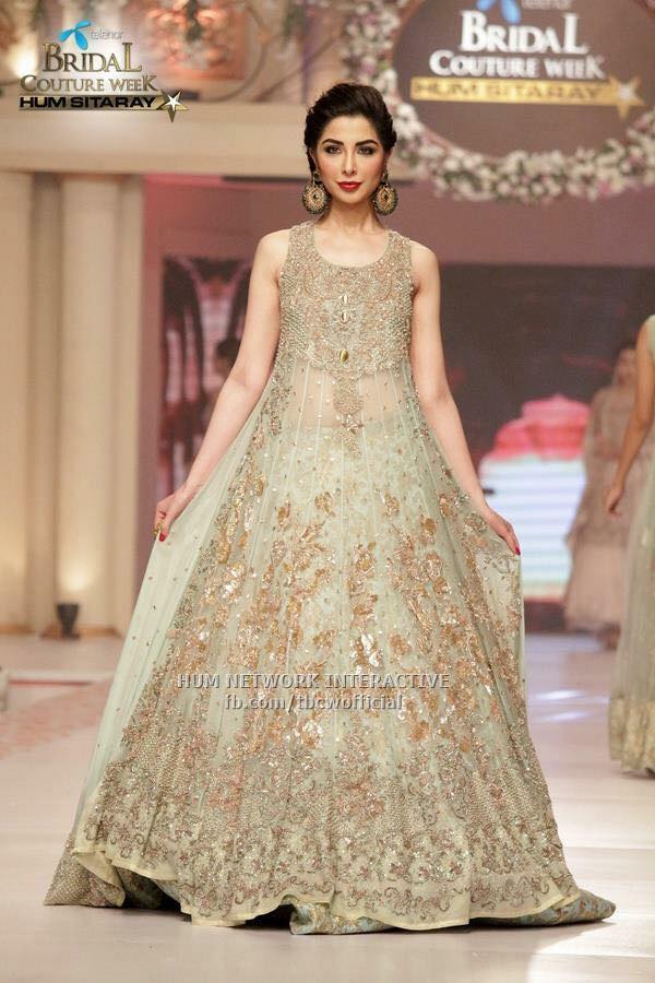 Beautiful-Pakistani-Long-Maxi-Collection-For-Girls-2016-7 Indian Bridesmaid Dresses-24 Latest Dresses Designs for Bridesmaids
