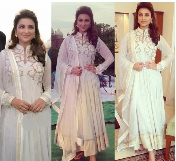 Bollywood-Celebrities-in-Designers-Anarkali-Suits-5 Indian Bridesmaid Dresses-24 Latest Dresses Designs for Bridesmaids