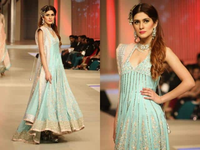 HSY-and-Zainab-Chottani-collection-at-BRIDAL-COUTURE-WEEK-9 Indian Bridesmaid Dresses-24 Latest Dresses Designs for Bridesmaids