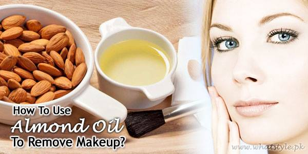 almond oil makeup remover