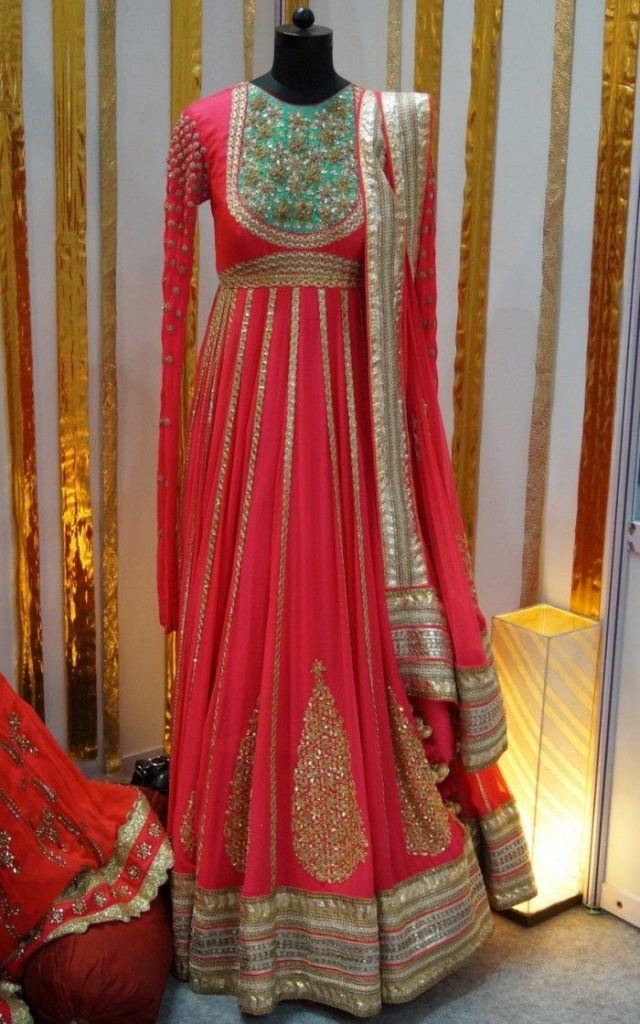 bridal-frock-for-bridesmaids-640x1024 Indian Bridesmaid Dresses-24 Latest Dresses Designs for Bridesmaids