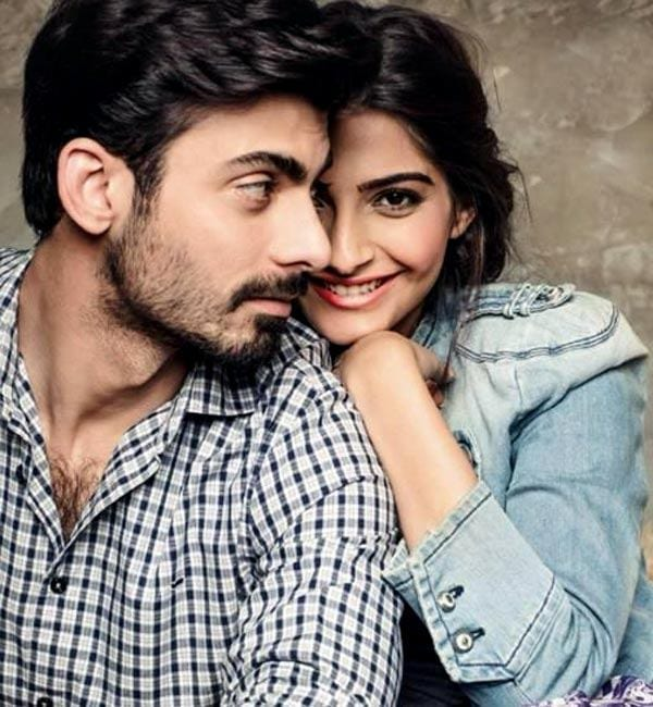 fawad-and-sonam Fawad Khan Hairstyles-18 Top Haircuts of Fawad Khan of all time