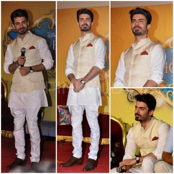 fawad-khan-khoobsurat-trailor-launch-600x600 Fawad Khan Dressing Styles-27 Best Outfits of Fawad Khan to Copy