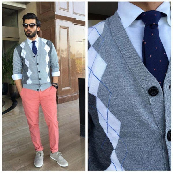 fawad-khan-style-fashion-11-600x600 Fawad Khan Dressing Styles-27 Best Outfits of Fawad Khan to Copy