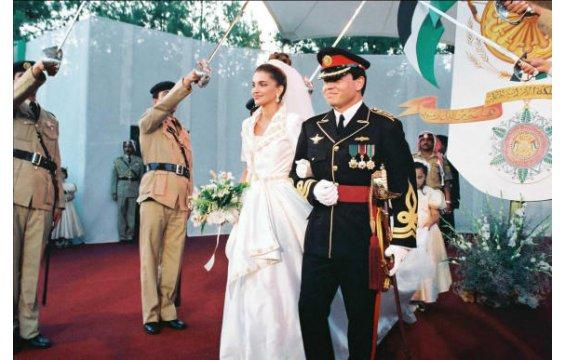 king_abdullah_the_second_and_queen_rania_wedding_4 Top 10 Most Expensive Arab Weddings of All The Time