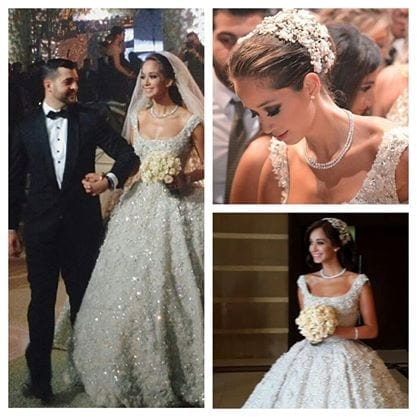 lana-el-sahely-wedding-42 Top 10 Most Expensive Arab Weddings of All The Time