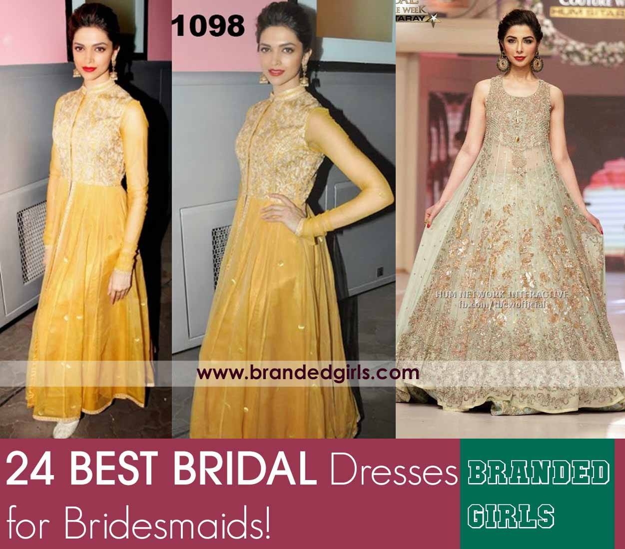 polyvore-sample Indian Bridesmaid Dresses-24 Latest Dresses Designs for Bridesmaids