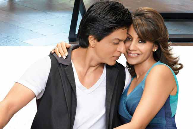 19srk-gauri Shahrukh Khan Pictures–30 Most Stylish Pictures Of Shahrukh Khan