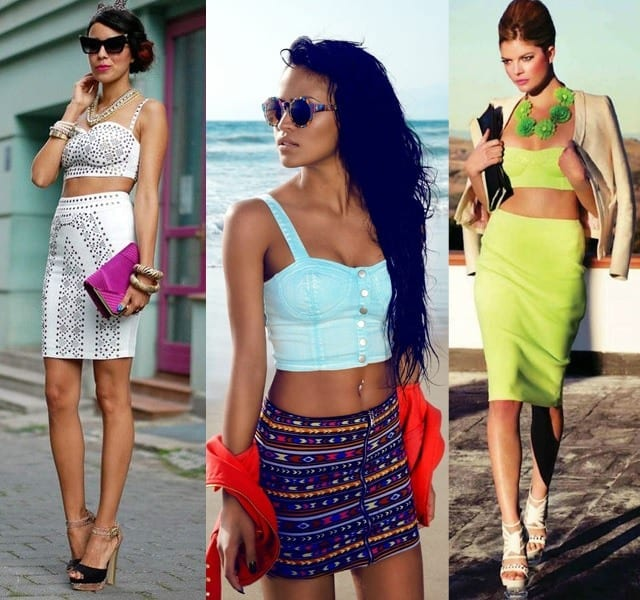 bandeau2 How to Wear Bandeau Tops-20 Cool Styles to Wear Bandeau Tops