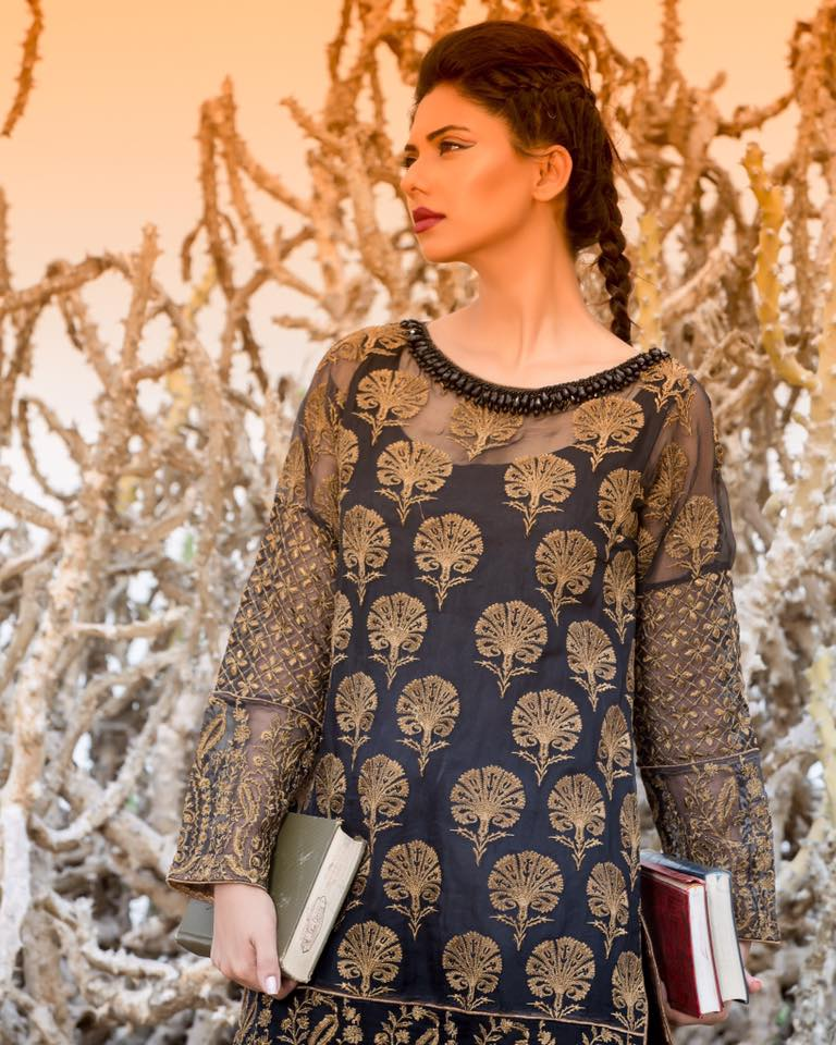 HSY-designer-kurti Winter Kurtis Designs – 18 Latest Kurti Styles for Women