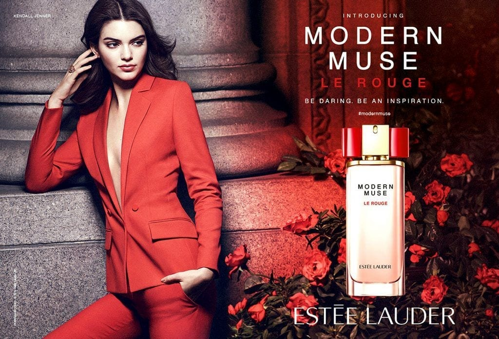 Kendall-Jenner-Is-Estee-Lauders-Modern-Muse2-1024x696 Top 10 Perfume Brands For Women 2017 - New List
