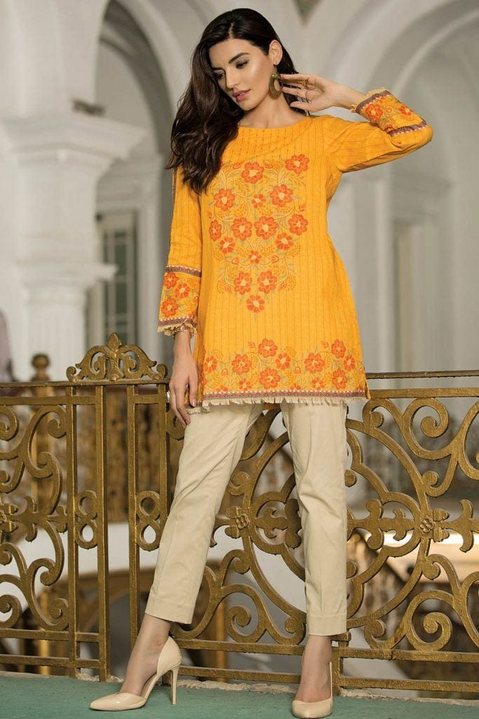 Kyseria-Winds-of-Winter-Kurti-683x1024 Winter Kurtis Designs – 18 Latest Kurti Styles for Women