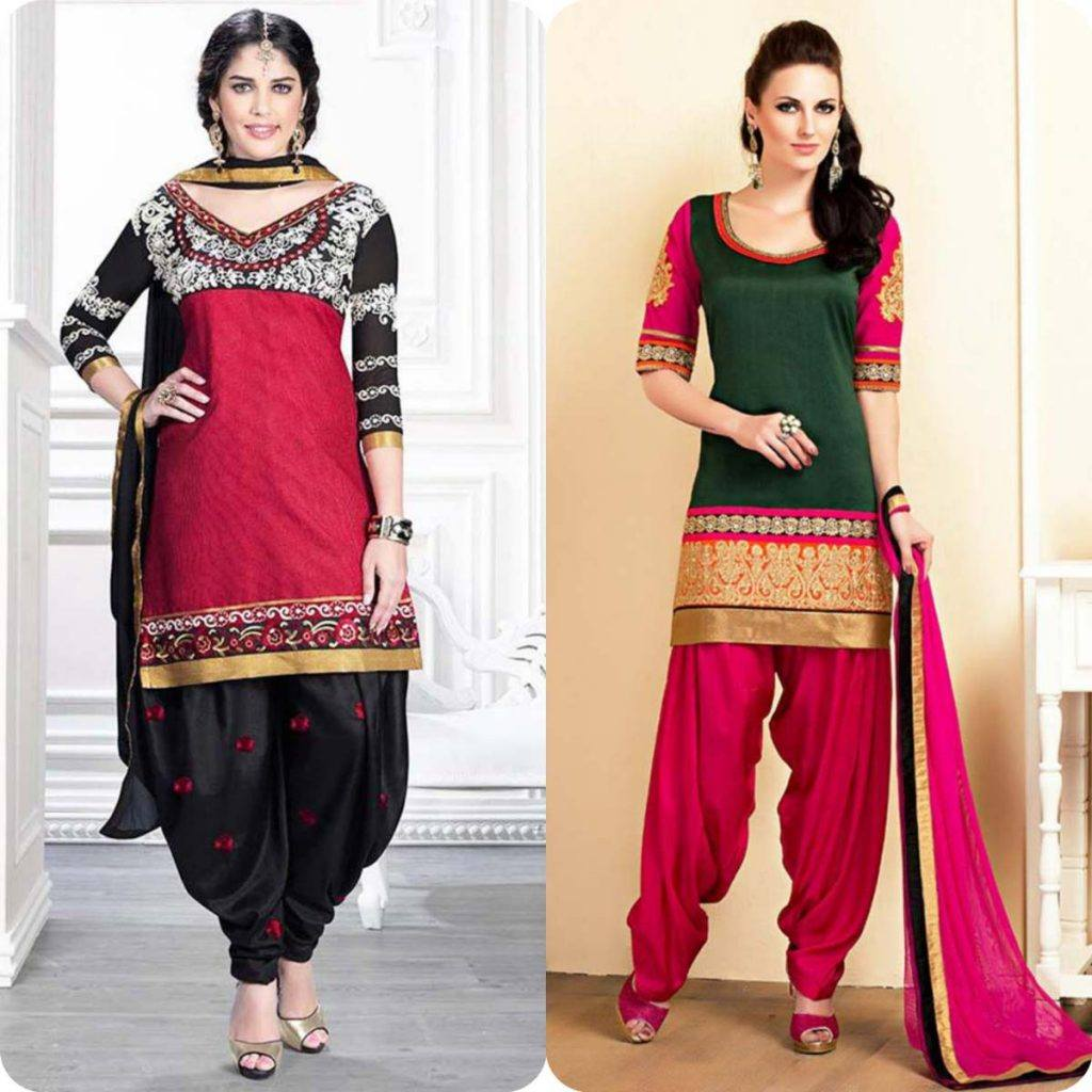 Latest-Pakistani-and-Indian-Patiala-Shalwar-Kameez-Suits-Designs-12-1024x1024 Latest Shalwar Kameez Designs for Girls-15 New Styles to try