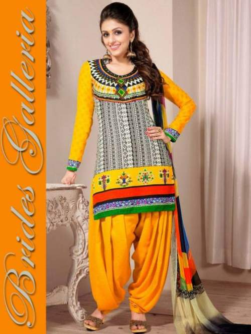 Latest-Punjabi-Patiala-Suits-for-Girls-and-Women-2015-001 Latest Shalwar Kameez Designs for Girls-15 New Styles to try