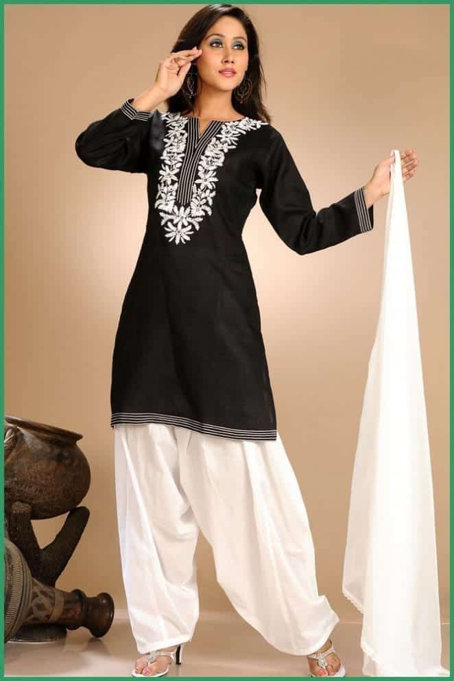 Latest shalwar kameez designs for girls 15 new styles to try for Girls suit design