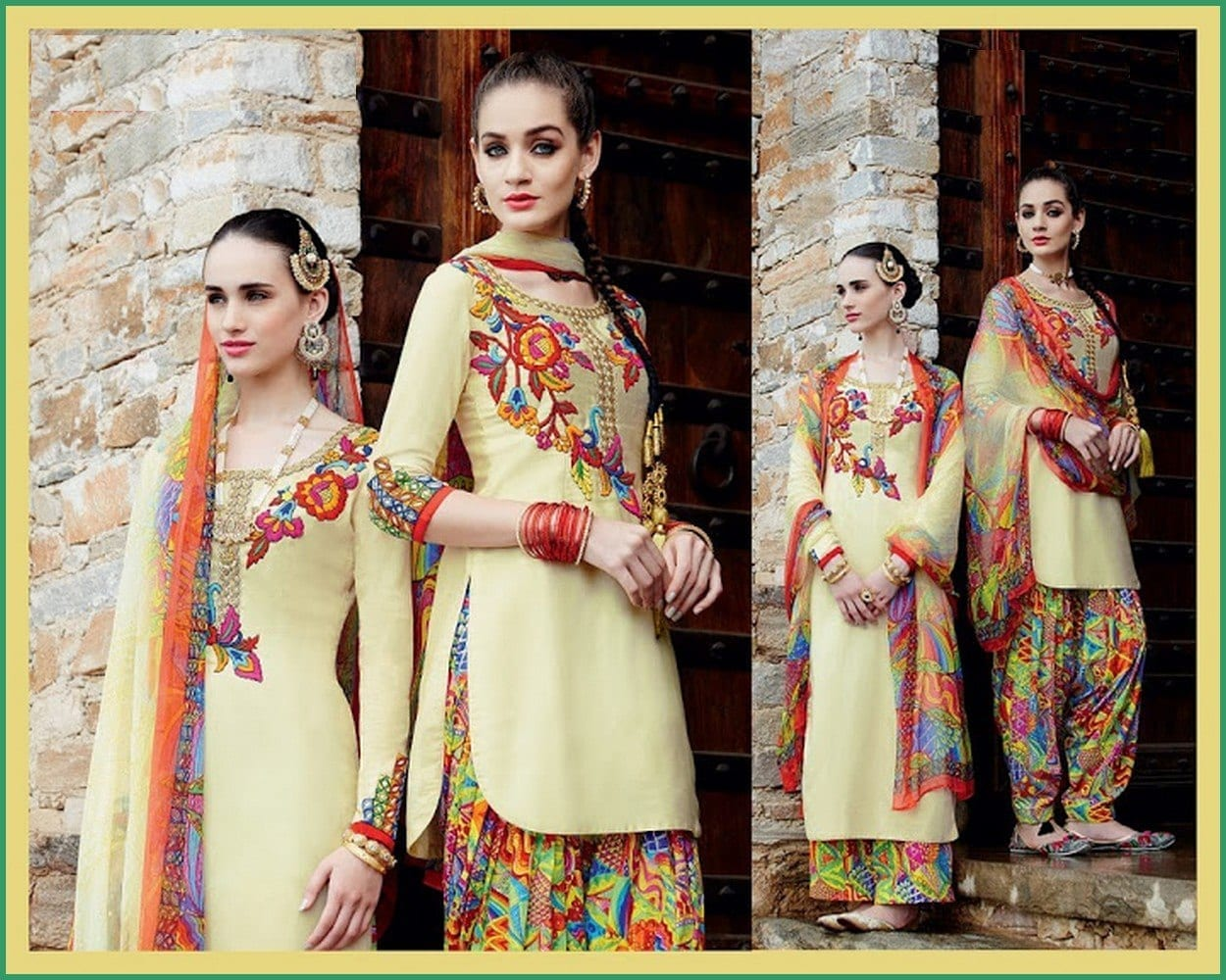 Mehndi Dress Designs 2016 New Style : Latest shalwar kameez designs for girls 15 new styles to try
