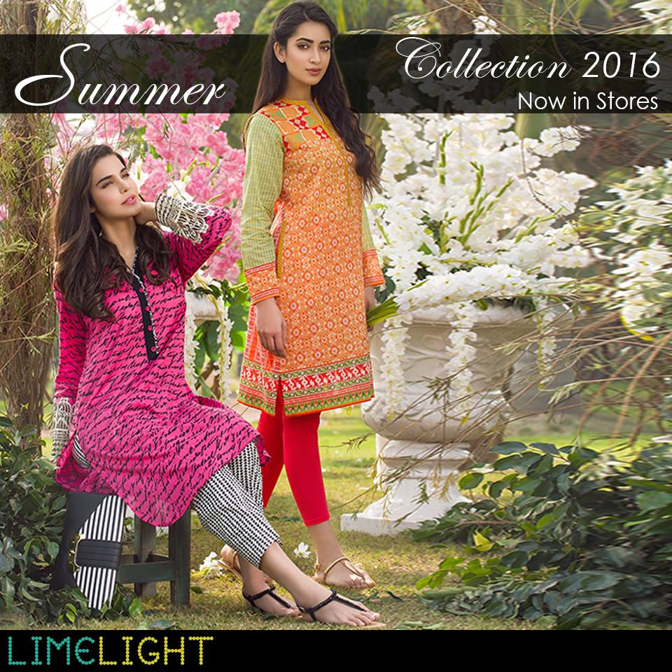 Limelight-SS-Summer-Casual-Wear-Lawn-Dresess-2016 15 Most Expensive Clothing Brands in Pakistan 2017