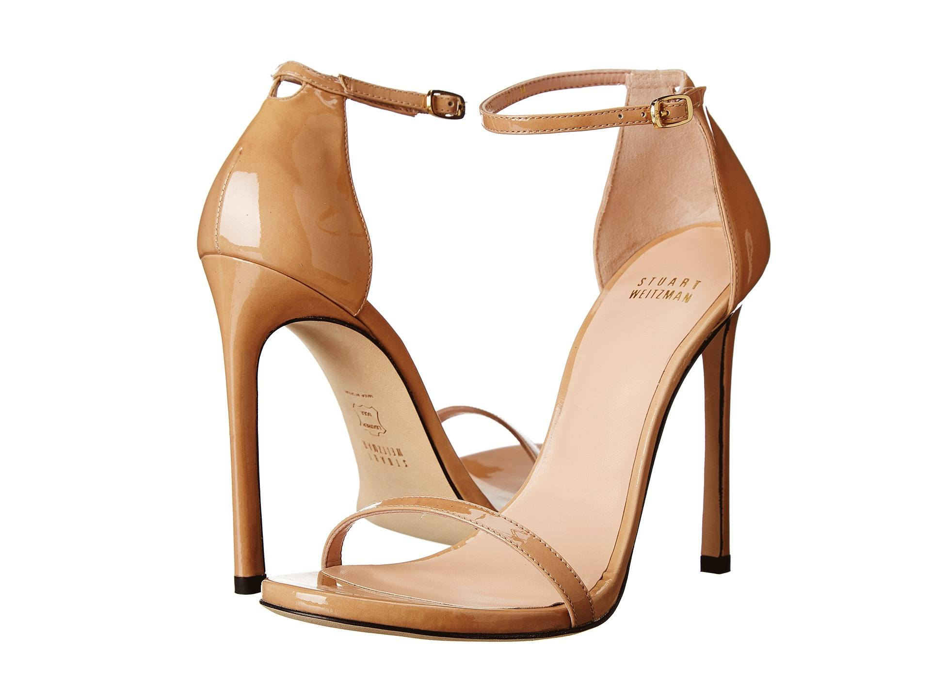 Stuart-Weitzman-Nudist-Glitter-Gold-IG Top Heel Brands - 10 Most Comfortable Heel Brands 2017