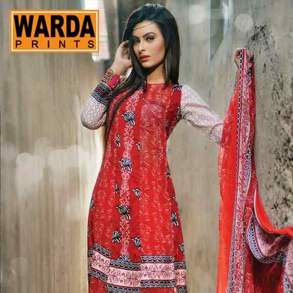 Warda-Lawn-Prints-Summer-Collection-3 15 Most Expensive Clothing Brands in Pakistan 2017