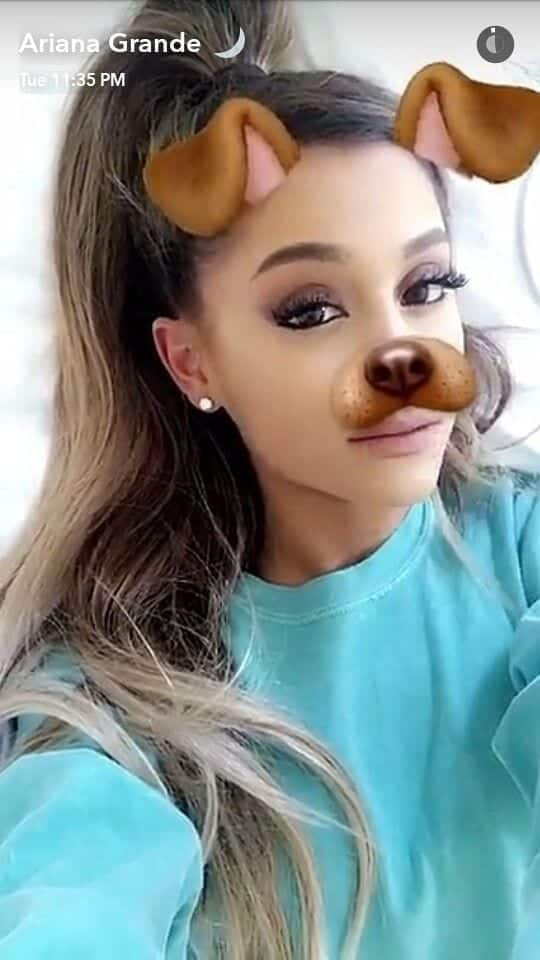 ariana Hollywood Celebrity Snapchats-15 Hollywood Snapchat Accounts to Follow