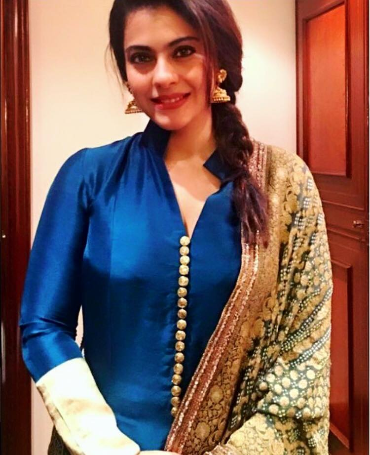kajol-wearing-manish-malhotra-kurti Winter Kurtis Designs – 18 Latest Kurti Styles for Women