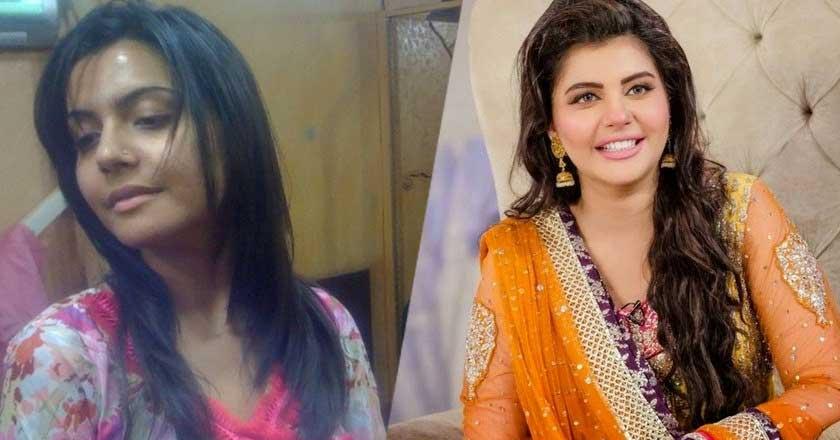 nida-yasir-with-and-without-makeup Pakistani Actresses without Makeup-Shocking Photos of Actresses with No Makeup