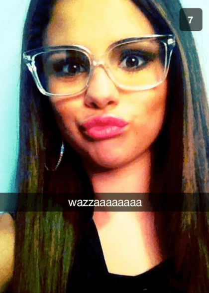sel Hollywood Celebrity Snapchats-15 Hollywood Snapchat Accounts to Follow