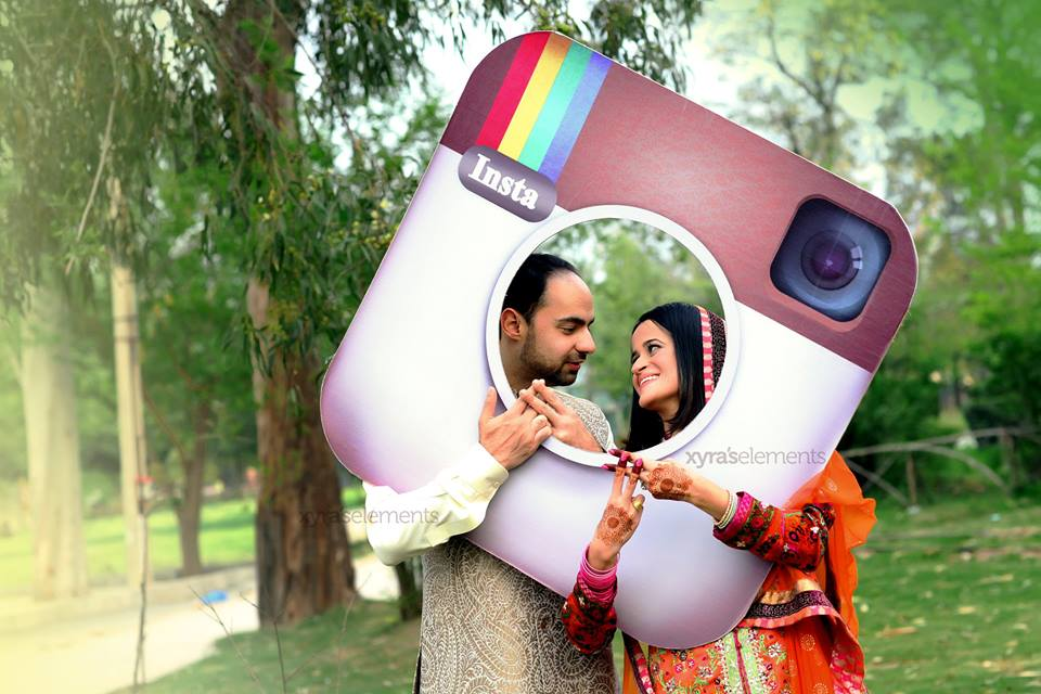 wedding-props-shoot Pakistani Bride and Groom Photo Shoot-Pakistani Wedding Poses
