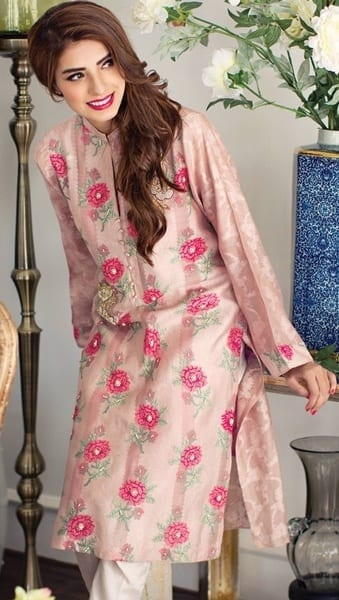 Agha-Noor4-1 Latest kurti designs 2017 from top 15 kurti designers these days
