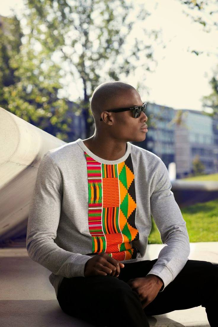Ankara-Sweatshirts Ankara Styles for Guys - 18 Best Ankara Outfits for Men 2017