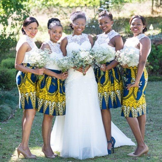 Ankaras-for-Bridesmaid Ankara Styles for Wedding-17 Cool Ankara Dresses for Wedding 2017
