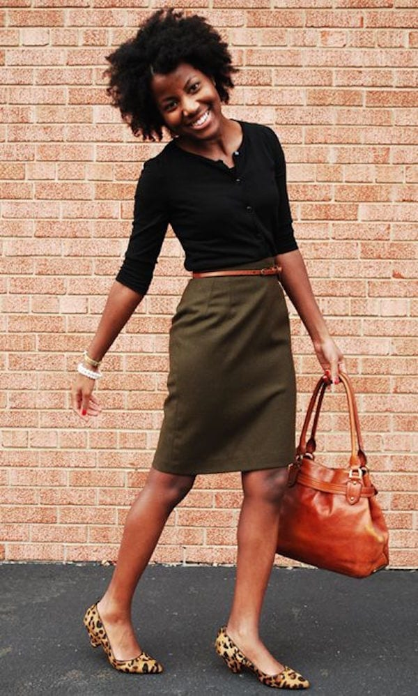 Casual-Office-Look Work Outfits for African Women-25 Professional Attires