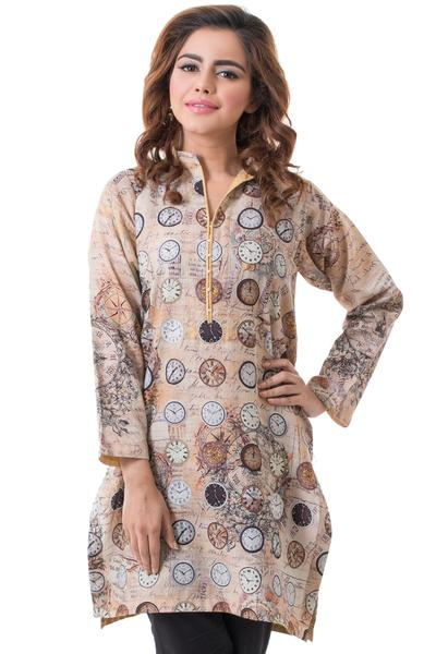 GulAhmed1 Latest kurti designs 2017 from top 15 kurti designers these days