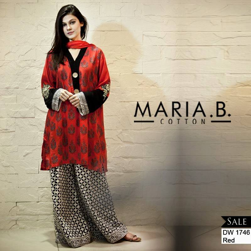 MariaB2 Latest kurti designs 2017 from top 15 kurti designers these days