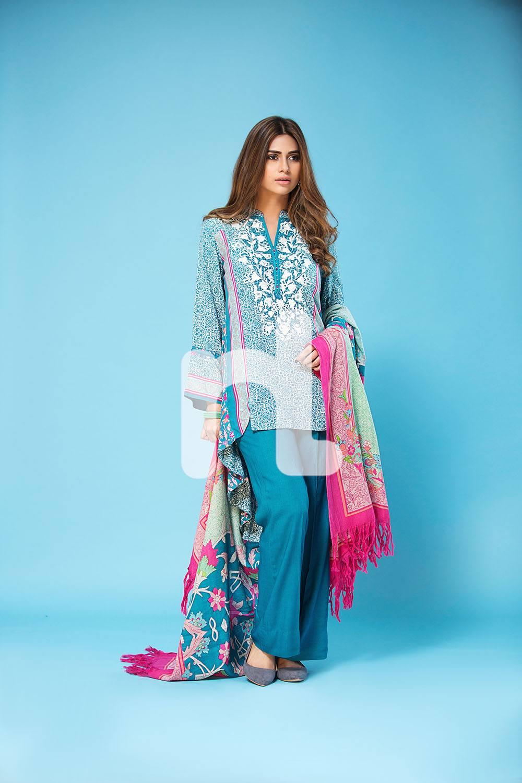 NishatLienen1 Latest kurti designs 2017 from top 15 kurti designers these days