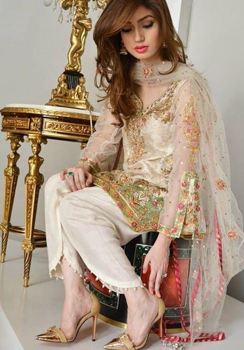 ZarahShahJehan Latest kurti designs 2017 from top 15 kurti designers these days