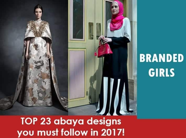 abaya-designs-for-2017 2017 Abaya Designs - 23 New Abaya Styles for Stylish Look