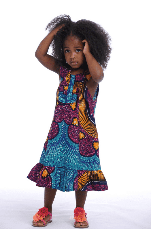 african-kids-street-style-frock African Dress Styles for Kids-19 Cute African Attire for Babies