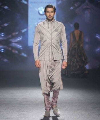 clothing-shantanu-nikhil-silver-kurta-350x420 Engagement Outfits for Indian Men-20 Latest Ideas what to Wear on Engagement