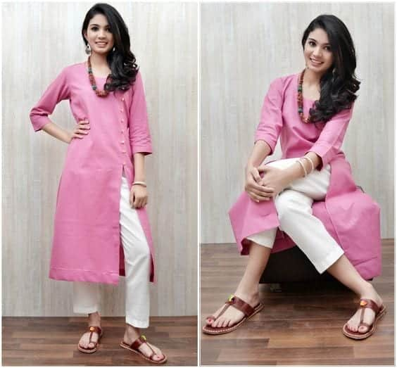 cotton-kurti-design-catalouge Latest kurti designs 2017 from top 15 kurti designers these days