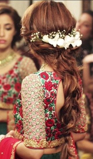 hairstyles 2017 Ghagracholi Designs-20 Latest Lehngacholi Styles These Days