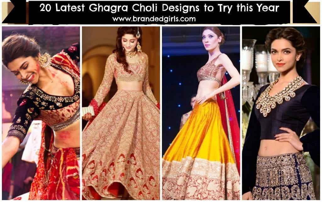 latest-ghagra-choli-lehnga-choli-designs-to-try-in-2017-1024x642 2017 Ghagracholi Designs-20 Latest Lehngacholi Styles These Days