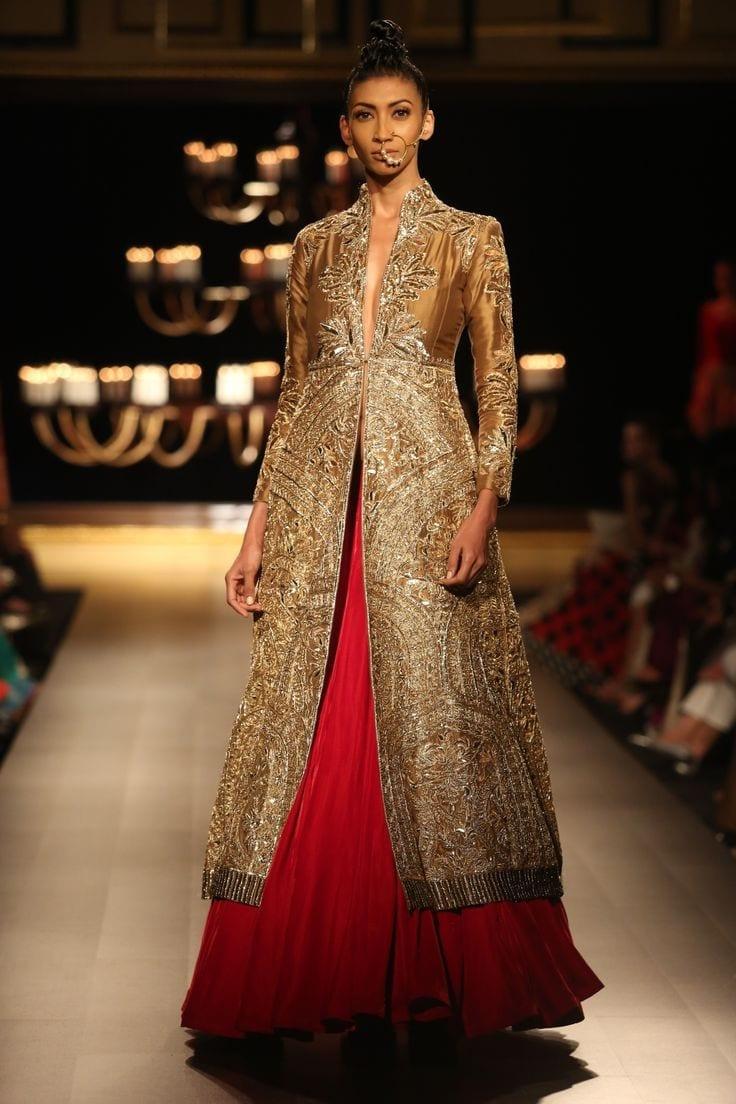 manish-bridal-dress Manish Malhotra Wedding Dresses 2017-Top 20 Bridal Dress by Manish Malhotra