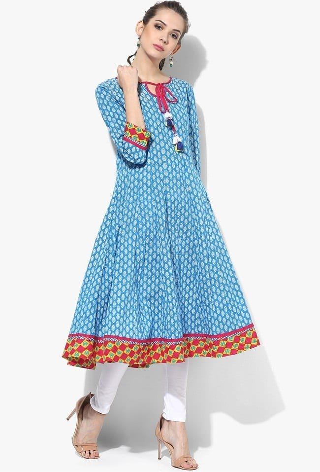 sangriaAnarkaliKurti Latest kurti designs 2017 from top 15 kurti designers these days