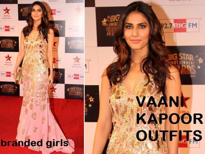 vaani-kapoor-star-awards Vaani Kapoor Outfits-15 Best Dressing Styles of Vaani Kapoor