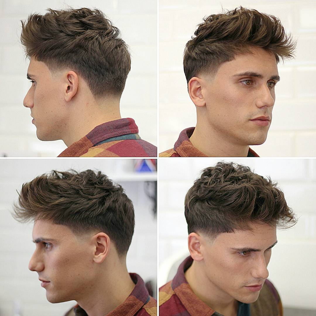 Medium-Low-Fade-Hairstyle Hairstyles for College Guys-25 New Hair Looks to Copy in 2017