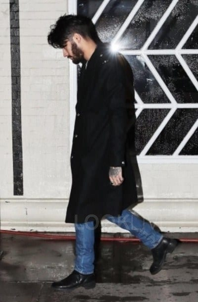 Top-Coat-Look-for-Fall Zayn Malik Outfits-19 Best Outfits Worn by Zayn Malik All Time