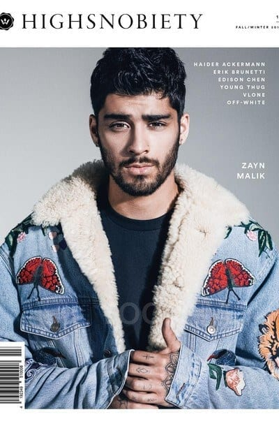 Zayn-Malik-in-Denim-Js Zayn Malik Outfits-19 Best Outfits Worn by Zayn Malik All Time