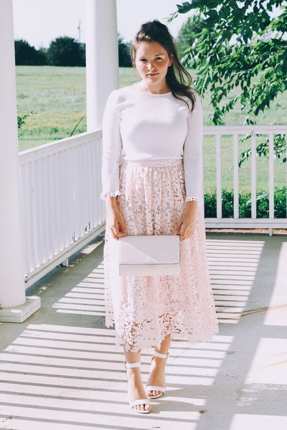and-lace Church Outfits Ideas for Teenagers-17 Ways to Dress for Church